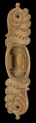 schiebetürmuschel, muschel, muschelgriff, schiebetürgriff, original antik