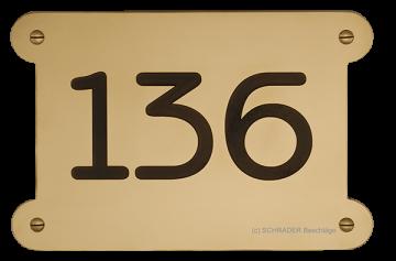hausnummern hausnummernblech messinghausnummer hausnummerform hausnummerherstellung
