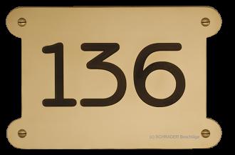 hausnummernschild brüniert, hausnummernschild graviert, hausnummer anfertigung, hausnummer nach kundenwunsch, hausnummer messing,