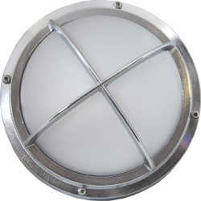 chromleuchte chromlampe gitterleuchte-chrom