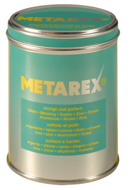 pflegewatte metarexdose metallreinigung metallpflege metallpflegewolle