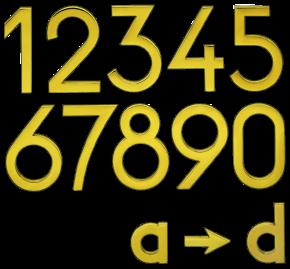 hausnummernzahlen hauszahlen messingnummern messingzahlen messingbuchstaben haustürnummern